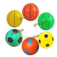 8 12см надувные игрушки погладить пляжный мяч маленький баскетбол футбол партия вещи Детские игрушки