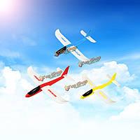Легкая пена самолет самолет планера рука метание летать модели самолетов