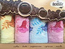 Красивое махровое полотенце Колокольчик