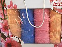 Красивое и нежное махровое полотенце