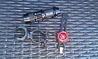 Комплект: передний и задний фонарь с креплением