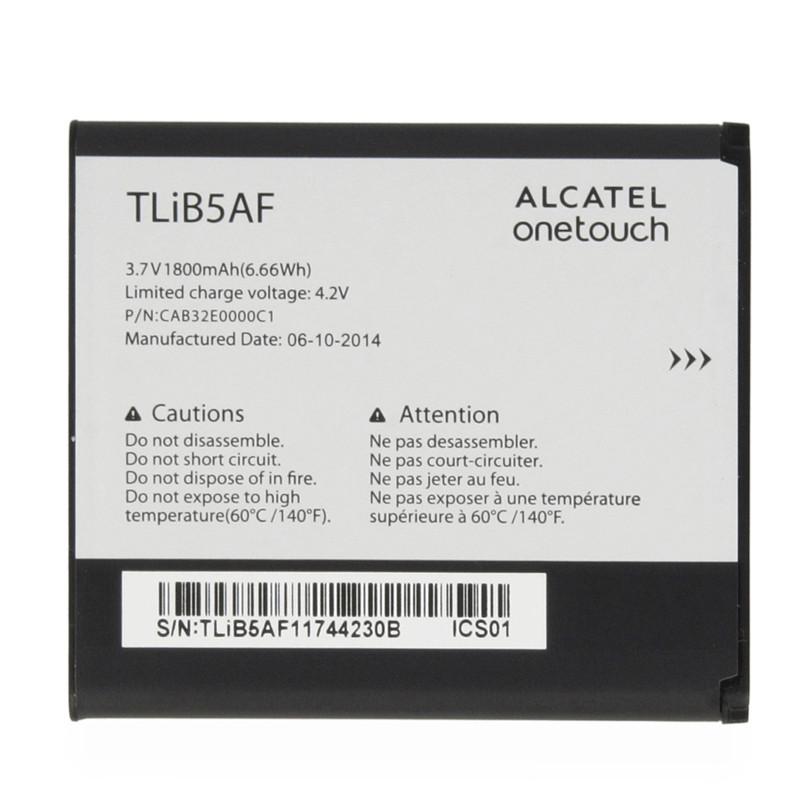 Аккумулятор  Alcatel OT997d (TLiB5AF) Оригинал