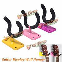 Проложенный гитара видеостены вешалка / держатель / крючок бас электрический акустический Ukelele
