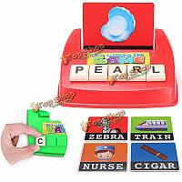 Английский написание буквы алфавита игра обучения образовательные игрушки детям подарок