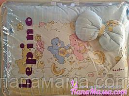 Комплект детского постельного белья в кроватку Bepino Мишки Гамми
