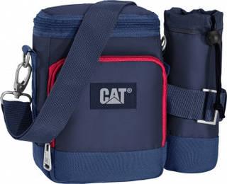 Сумка через плечо с отделением для бутылки 2,5 л. CAT The Giants 83195;170  Синий