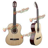 MBAT 39-дюймов акустическая гитара кленового грифа классической гитары с ИРИН строки