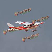 Sonicmodell Cessna 182 v2 1410мм размах крыльев красный с клапаном LED PnP