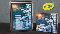 Набор карандашей Crayola Star Wars Storm Trooper Collectible Tin в металлической коробке