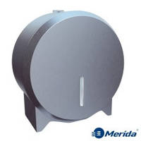 Держатель для туалетной бумаги джамбо металлический Merida Stella Mini