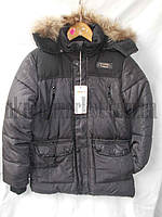 """Куртка на мальчика аляска подросток (зима) (6-10 лет) """"Brend"""" LZ-1345"""