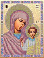 Схема для вышивки бисером Божья Матерь Казанская