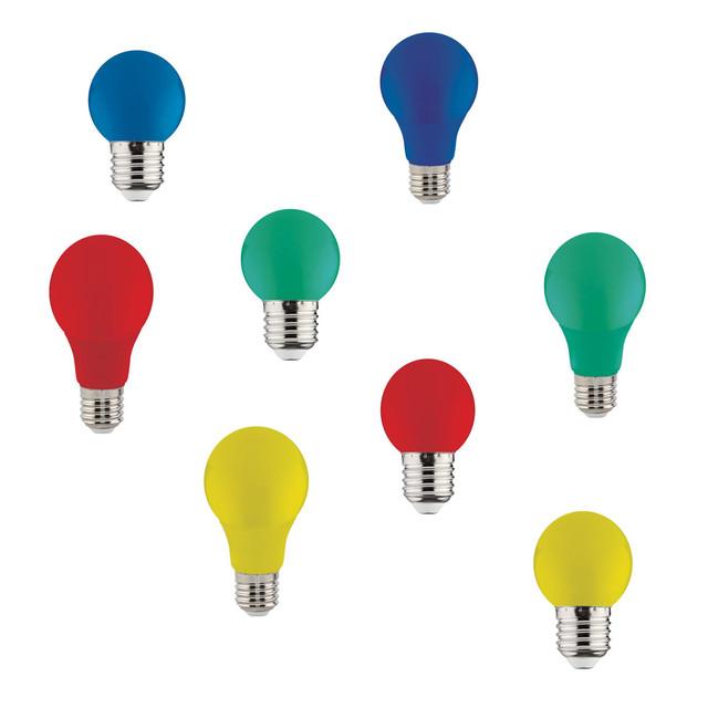 LED лампы цветные