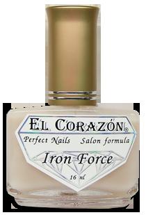 """№432 Препарат """"Железная сила""""- матовый укрепитель ногтей El Corazon"""