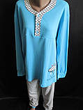 Красивые хлопковые пижамы большого размера., фото 2