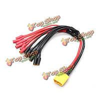 XT60 6 х 3.5мм пули кабель питания ESC прорыве