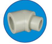 Колено внутреннее/наружное 45*20 ASG-Plast
