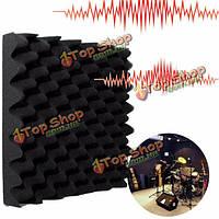 Акустическая пена клина студия акустическое звукоизоляцию губка черный