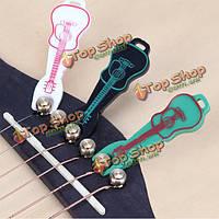 Милая форма гитары струна булавка съемник для укулеле гитары
