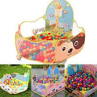 Портативный океан мяч яма бассейн на открытом воздухе в помещении дети домашнее животное игры играть игрушки детей палатка