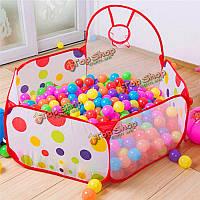 80x90x56мм портативный мяч съемки палатка с корзиной детей на открытом воздухе в помещении игра палатки