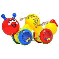 Трансформируемые теплый красочный раннего образования DIY игрушка