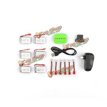 Батарея и зарядное устройство SYMA X5HC x5hw 3.7V 500мАh 25c x6a-a12