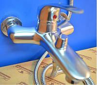 Смеситель для ванны Smack 7777 satin(euro)