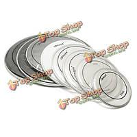 Ipusen прозрачный барабан головки двуслойный GDP для набора ударных ударных инструментов