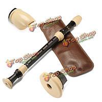 Qimei qm8a-23b альт-рекордер барокко 8 отверстий кларнет для начинающих