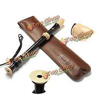 Qimei qm8a-24b сопрано рекордер барокко 8 отверстий черный кларнет