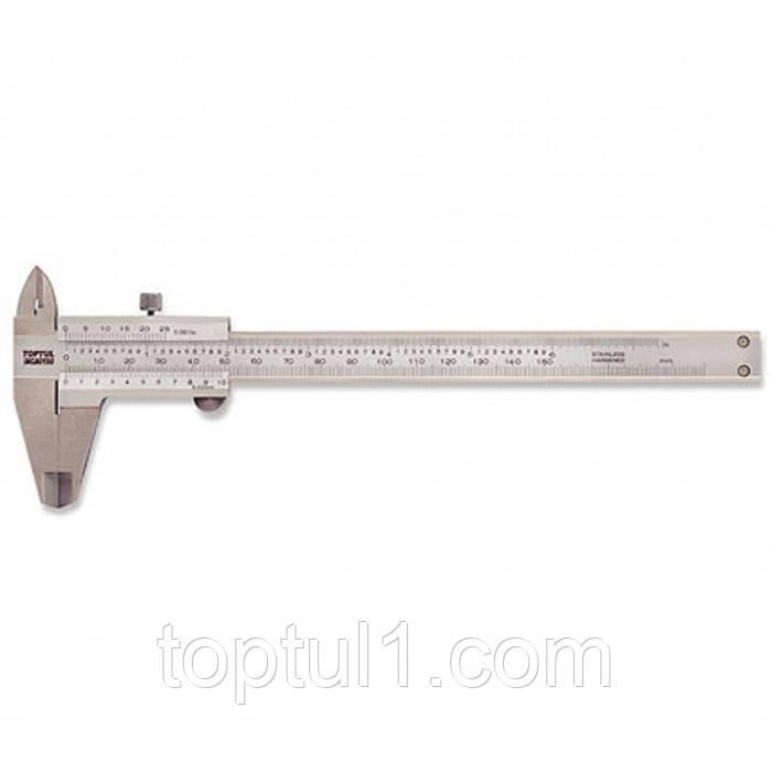 Штангенциркуль  TOPTUL IACA0150  150 мм