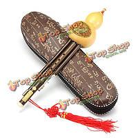 Натуральный бамбук тыква съемными кукурбит флейта тон с бб тон 8821