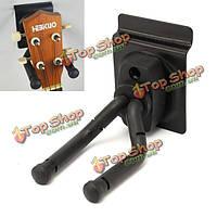 Гитара стены дисплей вешалка держатель подставка подставка крюк черный