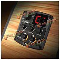 Cherub GT-6 акустическая гитара предусилитель подборщик с радиоприемником реверберации задержки хоровых широких эффектов
