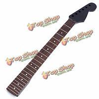 Электрическая гитара шея для замены й части 22 лада клен палисандр черный