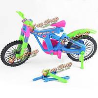 Поделки развивающие игрушки сборки велосипеда модели велосипеда Enlighten игрушки для детей