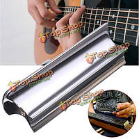 Из нержавеющей стали слайд домры тон бар для электрической гитары струнный инструмент