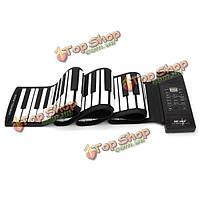 Inno 88 ключей из мягкого силикона миди электронная рука ролл фортепиано