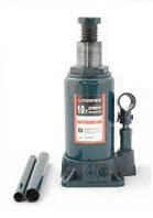 Домкрат бутылочный низкий FORSAGE T91007 10т с клапаном (190-360мм)