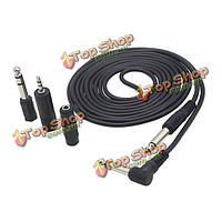 3 метра AUX кабель и 3шт кабель адаптера для iPhone'ов приборов звукового оборудования