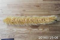 Опушка из песца 60 см желтая