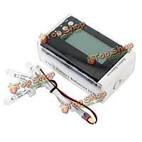 АОК черный 3 в 1 150w метр липо батареи балансир LCD тестер напряжения, фото 1
