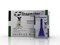 Капли Инспектор для собак 4-10 кг 1 пипетка Экопром