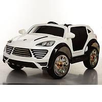 Электромобиль детский Porsche M 2735 EBLR-1 белый