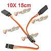 10X 15см накапливают у серво провод кабеля сплиттер для JR Spektrum Hitec