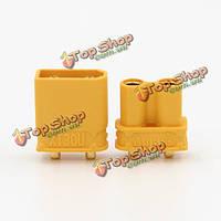 Amass XT30 UPB 2мм штекер мужской женский разъемы пуля разъемы для гс батареи, фото 1