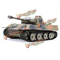 HengLong 1/16 2.4G 3819-1 немецкий пантера ирбиса боевой танк RC РУ танк, фото 1