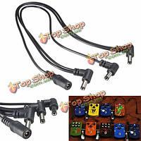 3-х полосная кабель питания педаль 9В гитарный эффект ромашка цепи поставок сплиттер адаптер