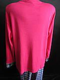 Хлопковые пижамы для женщин большого размера., фото 4